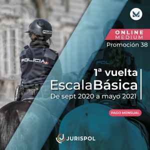 Policía modalidad MEDIUM - Promoción 38 - 1ª Vuelta
