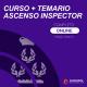 Ascenso a Inspector curso completo + Temario