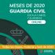 Guardia Civil modalidad MEDIUM - Cursos meses del año 2020